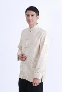 baju imlek pria putih
