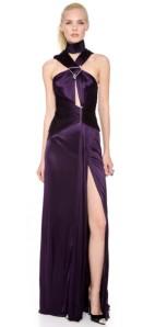 prple gown