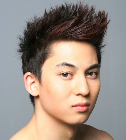 Galerry hairstyle wajah bulat pria