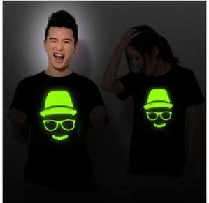 glow shirt skull
