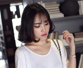 rambut pendek asia