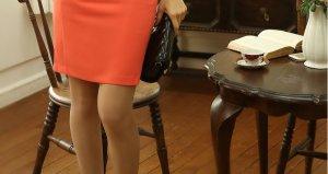 skirt oranye