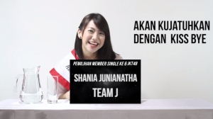 shania jkt 48 single ke 6