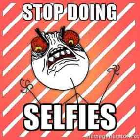 stop selfie