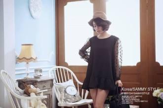 gaya berbusana korea