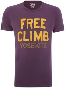 purple t-shirt for men