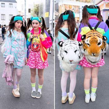 tampil berwarna ala tokyo fashion
