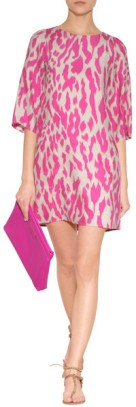tunic dress animal print