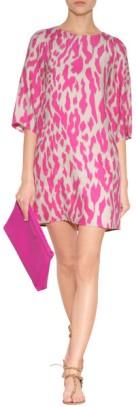 tunic dress animal print