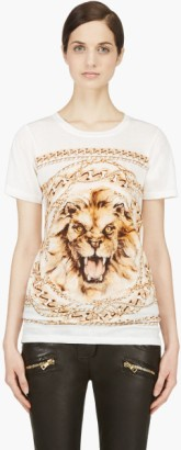 white lion graphic