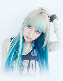rambut warna-warni