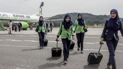 pramugari cantik syariah