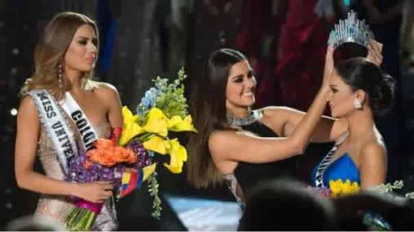 salah sebut pemenang di miss universe
