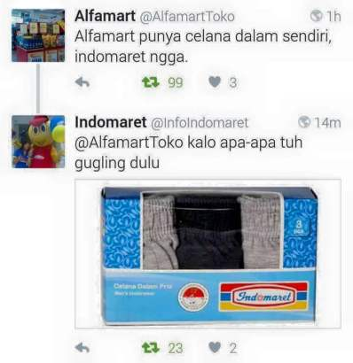 alfamart vs indomaret