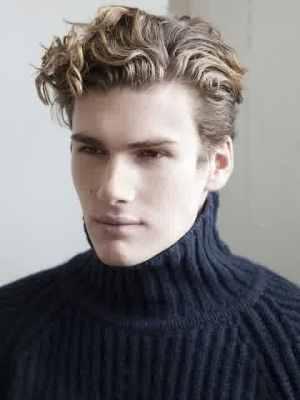 model rambut ikal pria 2016