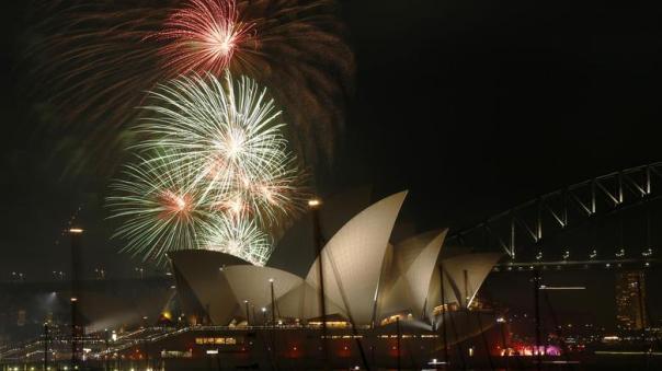 pesta kembang api di australia 1