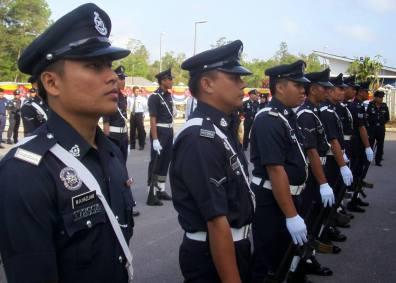 polisi berperut buncit tidak akan naik pangkat