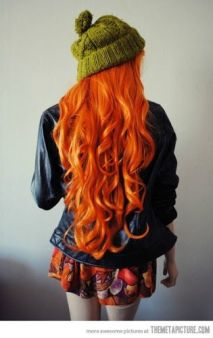 rambut oranye 1