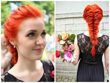rambut oranye