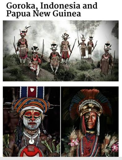 suku di papua-indonesia