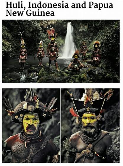 suku huli-asli papua-inonesia