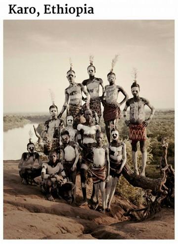 suku yang hampir punah-karo-ethiopia