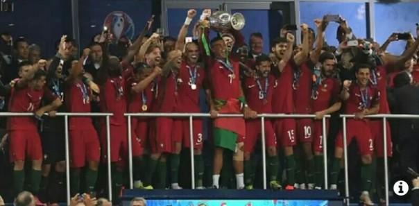 Portugal menang juara eropa