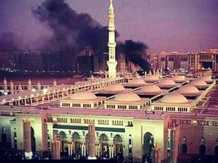 Bom bunuh diri di Arab Saudi