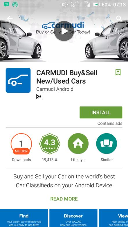 Carmudi Aplikasi Android