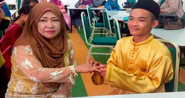 Abg 18 tahun nikahi janda