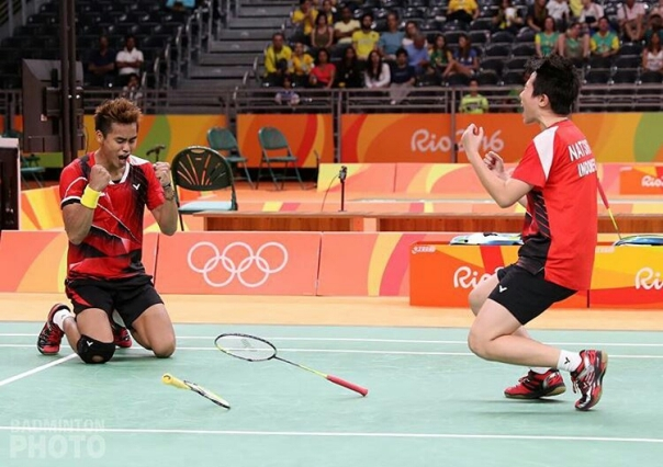 Emas pertama untuk Indonesia