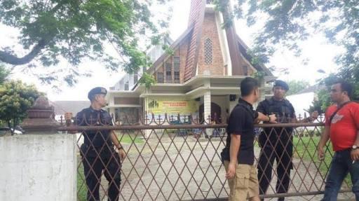 Bom gereja medan-santo yosep