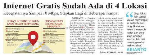 Lokasi internet gratis di Indonesia