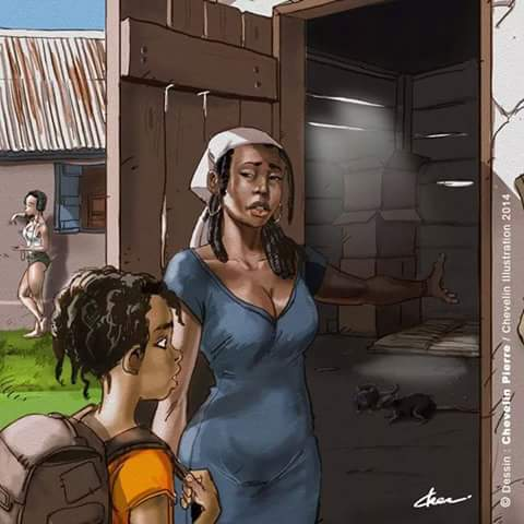 Komik Cinderella afrika