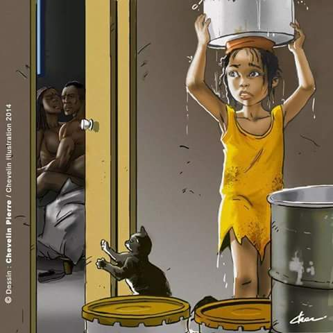 Komik Cinderella dari Afrika