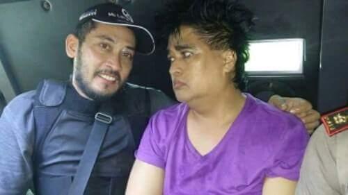 Dimas Kanjeng Taat Pribadi saat ditangkap