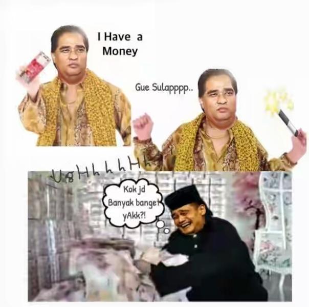 Meme ppap - meme Dimas Kanjeng