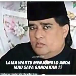 Meme kocak Dimas Kanjeng