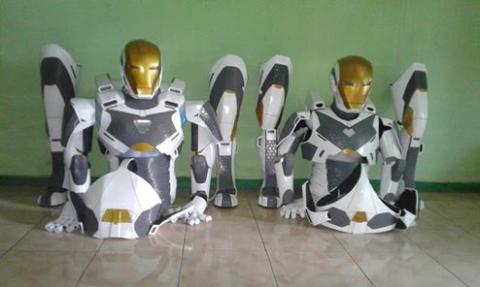 Pasangan Kalimantan Timur buat foto prewed ala Iron Man