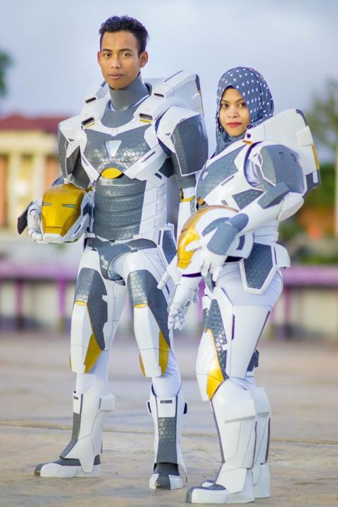 Foto prewed cosplay