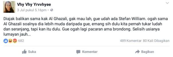 Cewek anti cowok miskin di Facebook