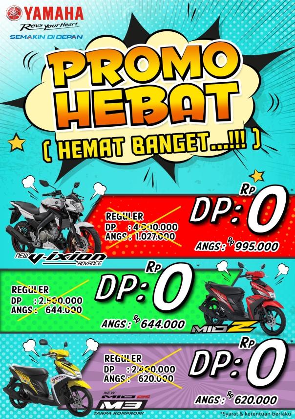 Brosur promo November Hebat dari Yamaha
