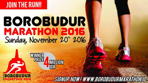 Lomba marathon borobudur 2016