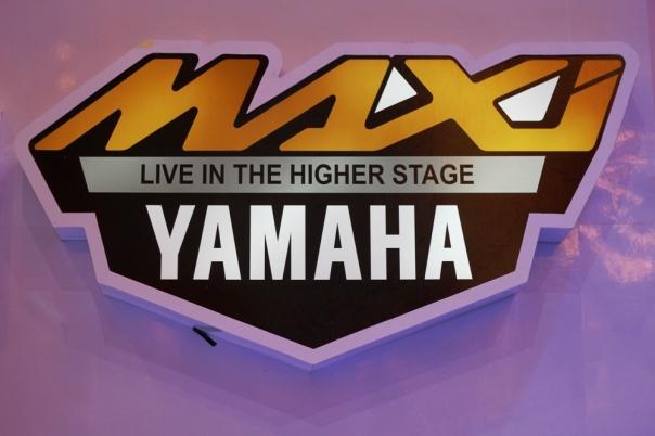 Logo MAXI YAMAHA Yang Diluncurkan Di Indonesia