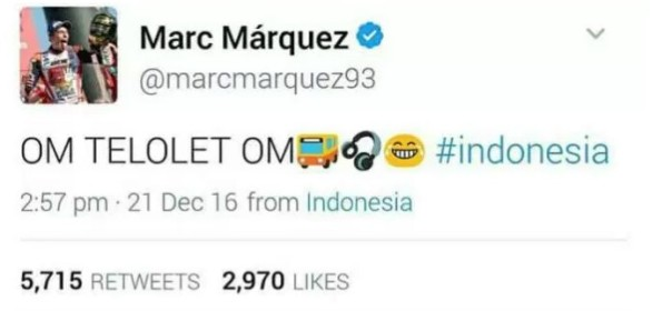 Marquez-om telolet om