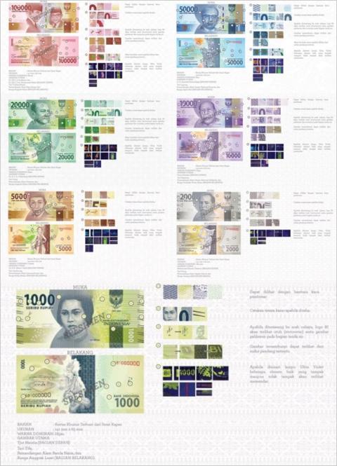 Uang kertas baru Indonesia 2016