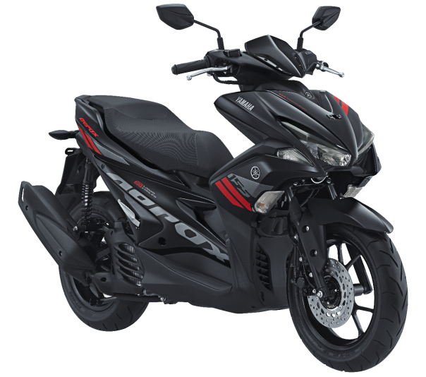 AEROX 155 VVA warna BLACK