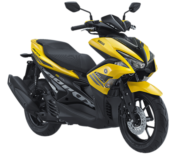 Aerox 155 VVA warna Yellow