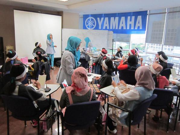 City Touring Yamaha Fino di Surabaya