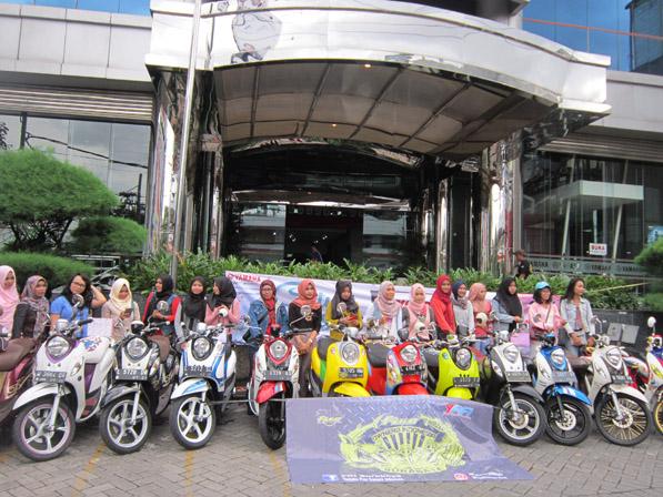 Touring Yamaha Fino